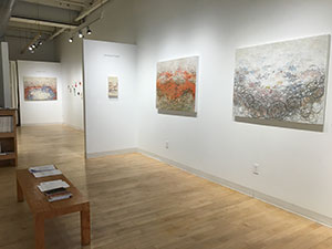 Jemison Faust Showing at the Bromfield Gallery, Boston